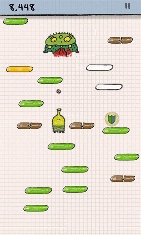 doodle jump enemies xbox live doodle jump out now for wp7 wp7 connect
