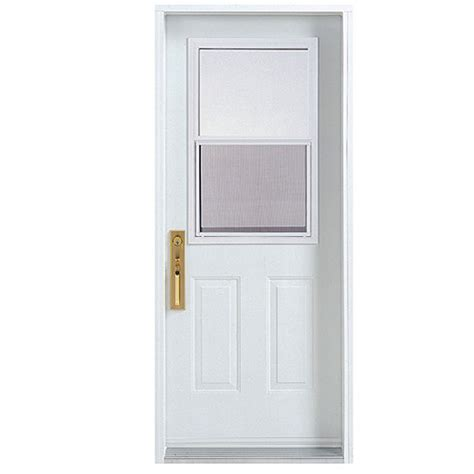 Melco Hung Window Exterior Steel Door 30 X 80 Quot Left Hung Exterior Doors
