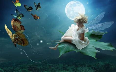 Moon Light Fairy Wallpapers Moon Light Fairy Stock Photos Light Fairies