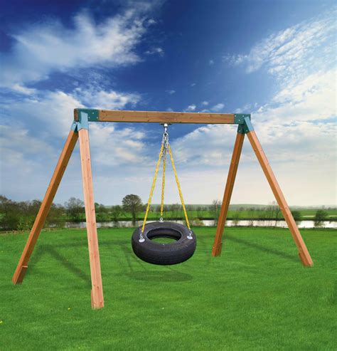 tire swing kits eastern jungle gym classic cedar tire swing