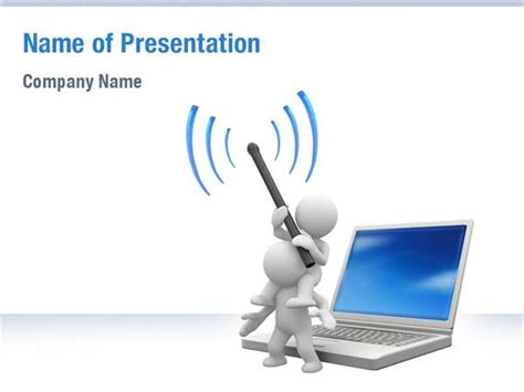 wireless communication powerpoint templates wireless