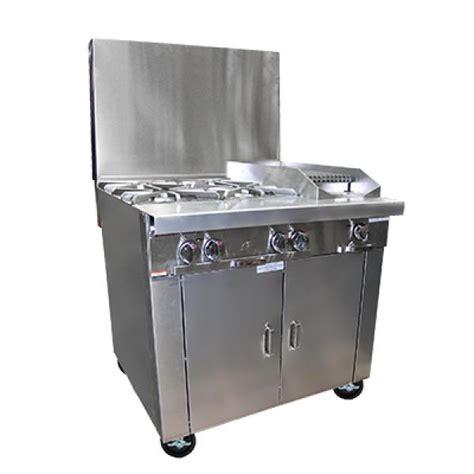 Oven Gas Platinum platinum heavy duty range gas 36 quot 4 33 000btu open burners 1 12 quot charbroiler manual