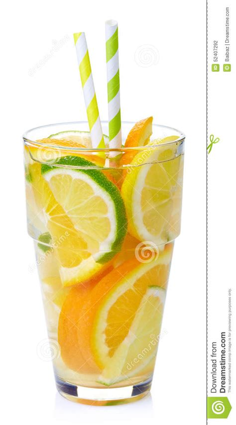 Orange Lemon And Lime Detox Water by Detox Water Stock Photo Image 52407292