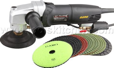 damo polisher concrete polisher 4 quot polishing kit