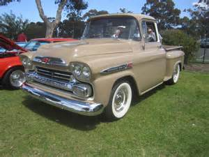 history of 1955 1959 chevrolet truck autos post
