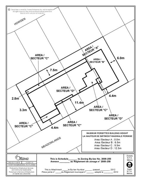 site plan template report template
