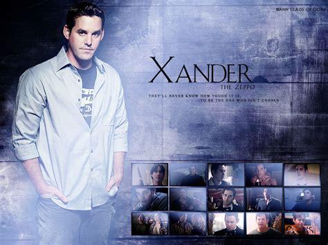 Bor Xander xander harris buffy the slayer