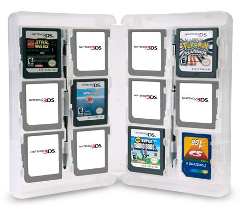 3ds Gift Card Amazon - amazon com cta digital nintendo 3ds cartridge storage solution box video games