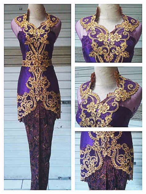 Kebaya Moscreft Payet kebaya bordir payet javanese indonesia buy kebaya wedding product on alibaba