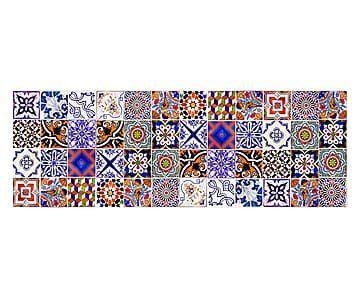 passatoia cucina passatoia cucina in vinile collage 50x140 cm tappeti