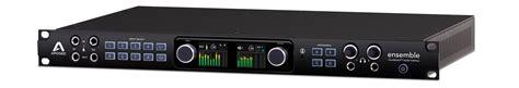 best thunderbolt audio interface ensemble thunderbolt audio interface apogee electronics