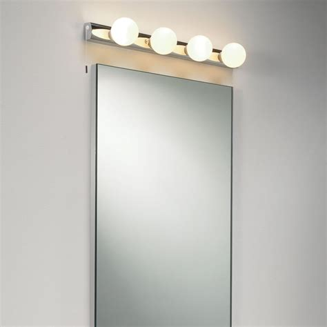 wall mirror lights bathroom astro lighting 0499 cabaret 4 ip44 bathroom wall mirror light