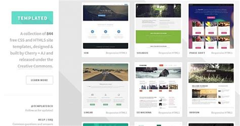 free web templates free resource directory