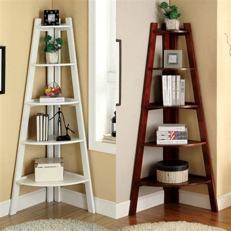 25 best ideas about corner ladder shelf on