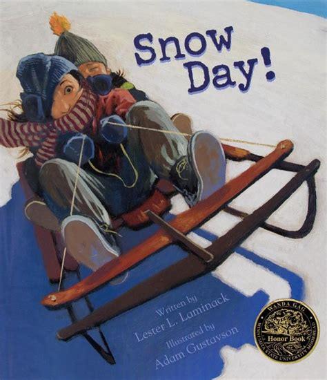 any given snow day books wanda g 225 g read aloud honor book award 2008 curriculum