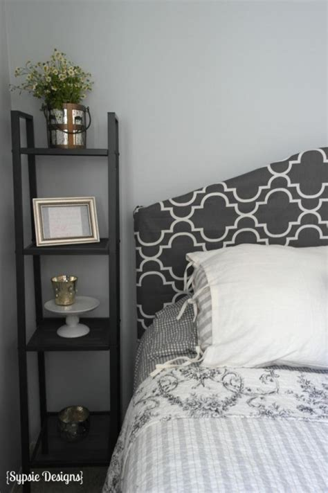covering a headboard with fabric remodelaholic easy no sew headboard slipcover tutorial