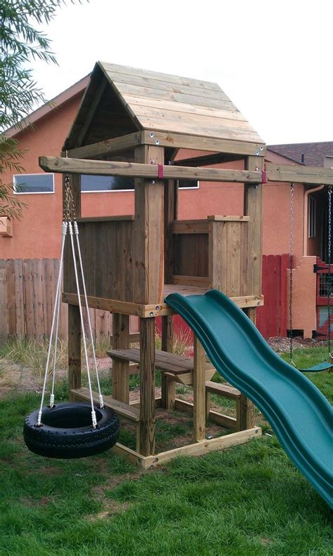 swing set roof plans best 25 play fort ideas on pinterest shed fort ideas