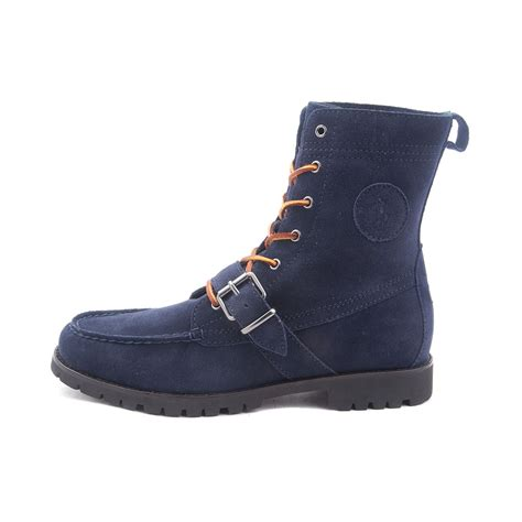 mens ranger boot by polo ralph mens ranger boot by polo ralph blue 869703