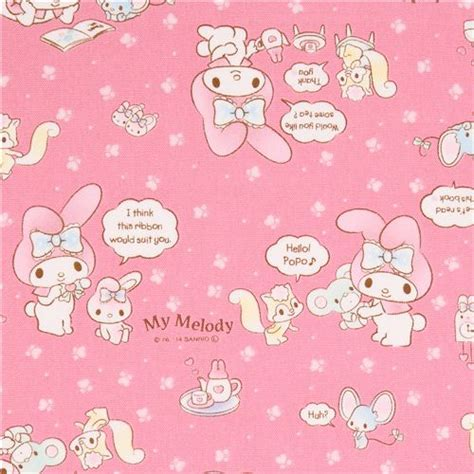 Pink My Melody Bunny Tea Plush Sanrio Oxford Fabric Iphone pink my melody bunny tea plush sanrio oxford fabric
