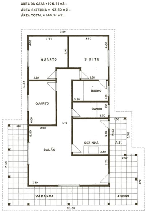 planta casas plantas de casas populares 27 modelos de projetos