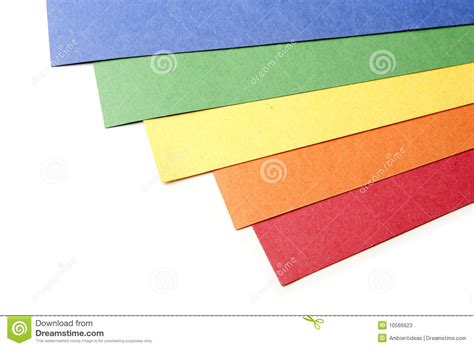 bright color craft paper stock photos image 10566623