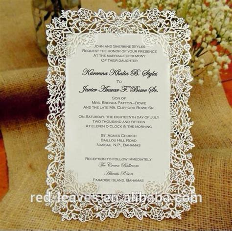 Arabic Wedding Card Templates