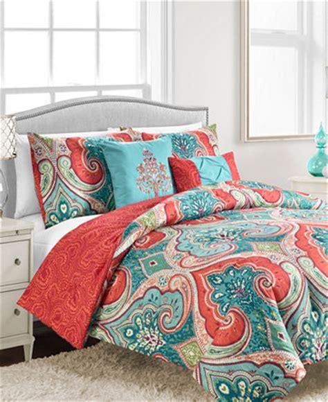 macy s bedding set sale casablanca 5 pc full queen comforter set bed in a bag