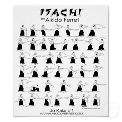 explore aikido vol 2 aiki jo staff techniques in aikido volume 2 books itachi jo kata 1 poster martial arts