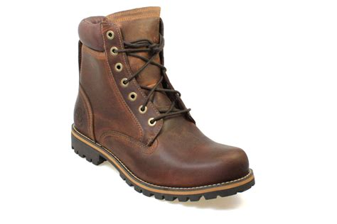 timberland mens leather boots timberland earthkeepers 6 inch mens brown rugged leather