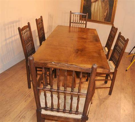 table a diner oak kitchen diner chair set refectory table and