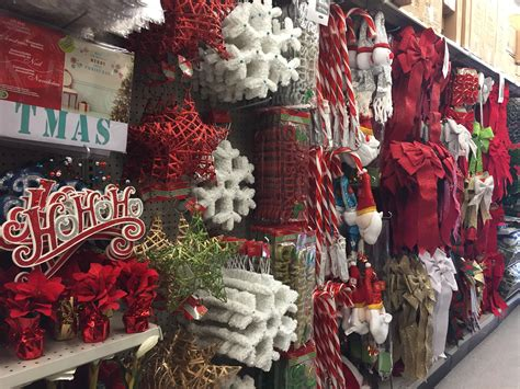 a whole aisle in a calgary dollarama offers decor