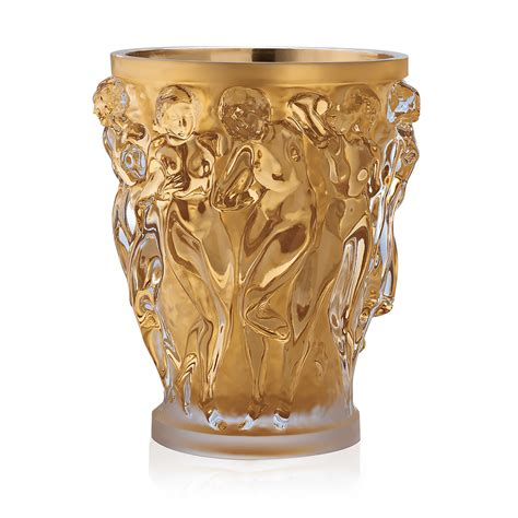 lalique vase bacchantes grand vase limited edition 90 pieces clear