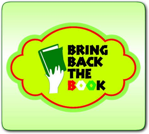 bringing me back books bring back the book bringbackdbook