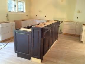 kitchen island from cabinets building a kitchen island with cabinets