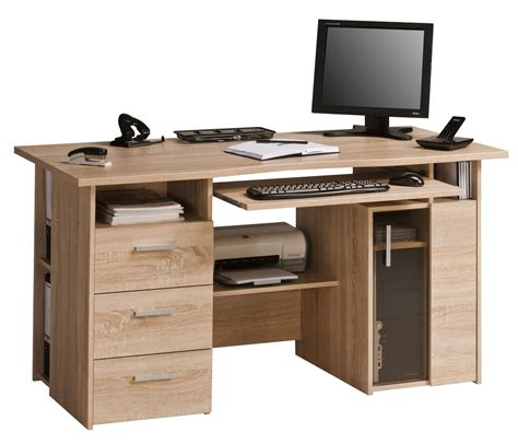 desk in maja capital oak computer desk