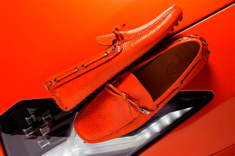 lamborghini shoes prada made a special driving moccasin for lamborghini s