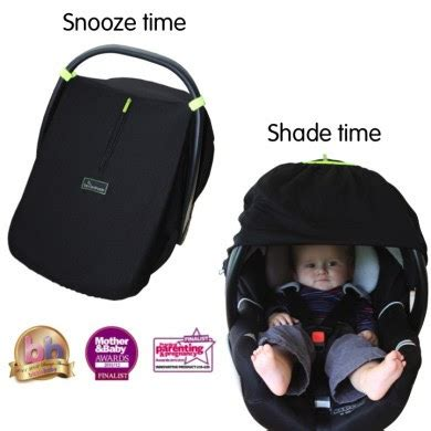 car seat shade snoozeshade infant car seat cover giveaway things that