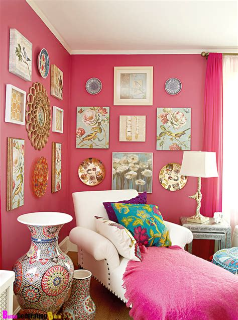 how to decorate a bedroom with pink walls go with the flow how to decorate using posh pink hues