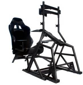 Foot Stand For Desk R3volution Gaming Cockpit Pc Gaming Desk Obutto