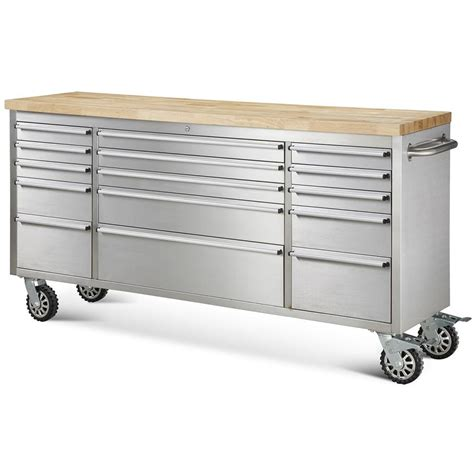 Rolling Kitchen Island Cart by Thor Kitchen Tool Chests 72 Quot 15 Drawer Rolling Metal Tool