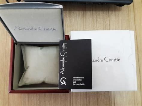 Box Jam Kw mengenal jam tangan alexandre christie original