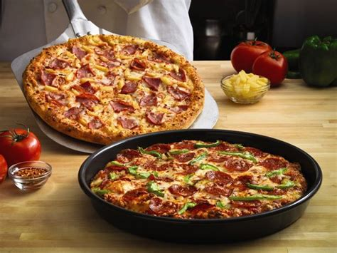 domino pizza hand tossed pan and hand tossed pizzas picture of domino s pizza