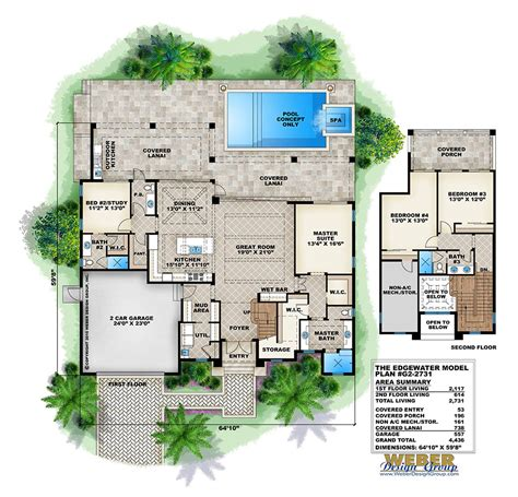 weber design group home plans beach house plan transitional west indies beach home