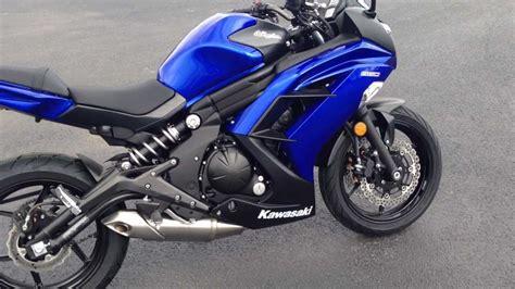 Kawasaki Blue by 2013 Kawasaki 650 In Blue