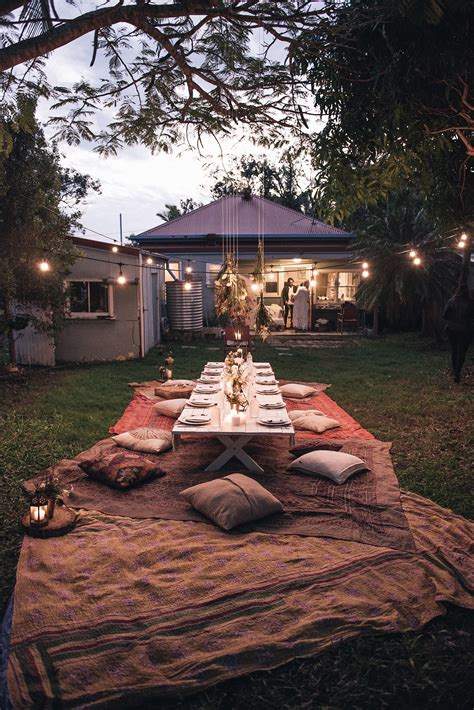 spell backyard how to host a bohemian dinner party spell the gypsy