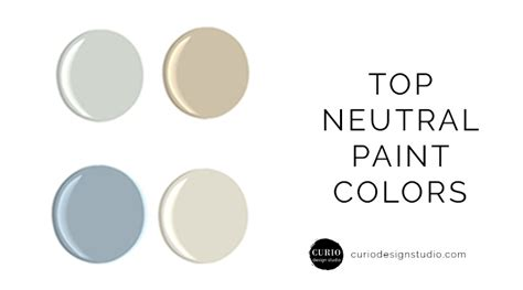 neutral wall colors blog curio design studio