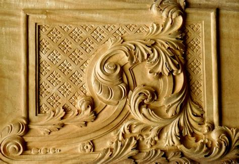 French Cornice Agrell Architectural Carving Period Style Primer Baroque
