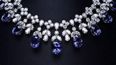 cascading sapphire  diamond drop necklace youtube