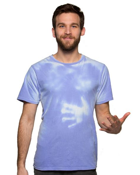 color changing shirts color changing shirt dyemurex blue to white modern fit
