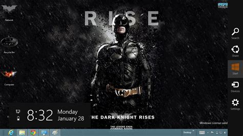 dark knight themes for windows 8 1 download gratis tema windows 7 batman the dark knight